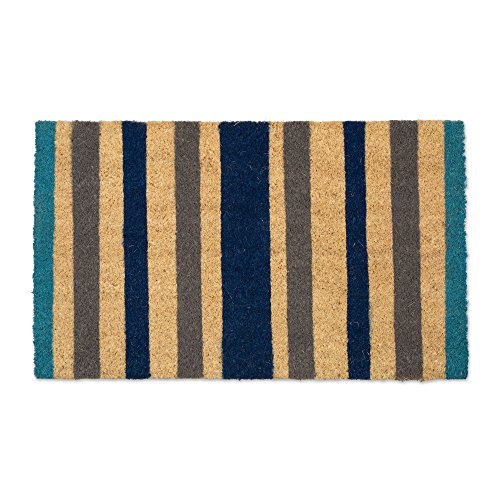 Natural Coir Coco Fiber Non-Slip Outdoor/Indoor Doormat, 18x30