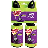 Scotch-Brite Pet Hair Roller, Twin Pack, 56 Sheets (839RS-56TP)