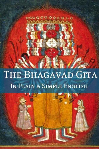 Amazon the bhagavad gita in plain and simple english a the bhagavad gita in plain and simple english a modern translation and the original version fandeluxe Image collections