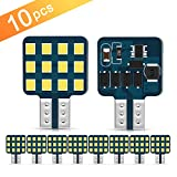 [2019 New] Ultra Bright T10 921 912 168 194 LED Bulbs 12-24V RV Interior Lights for Trailer, Trunk, Camper, Boat, Motorhome Ceiling Dome Light, Pack of 10