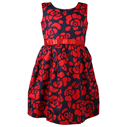 Sweety Jilax Blue and Red 3 Year Girls Frock