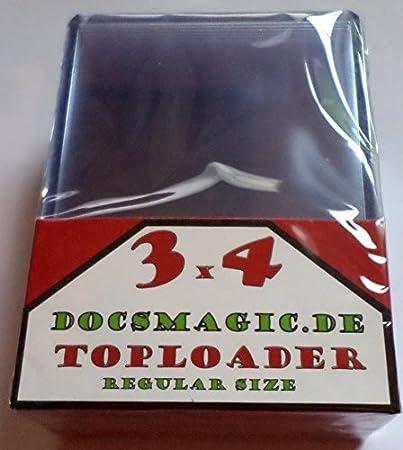 """25 Docsmagic.de Toploader 8/"""" x 10/"""" 210 x 262 Foto Postcard"""