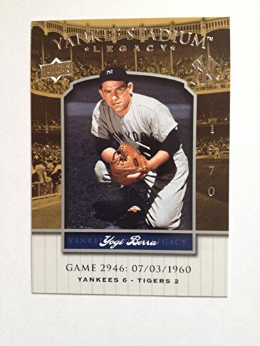 2008 Yankee Stadium Legacy Yankee Stadium Legacy 2946 Yogi Berra NM/M (Near Mint/Mint)