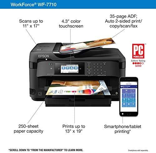 Amazon.com: Workforce WF-7710 Impresora de inyección de ...