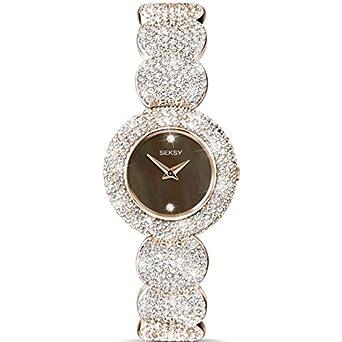 Seksy by Sekonda Elegance RosÉvergoldete Damen-Armbanduhr 4249