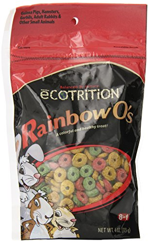 Ecotrition Small Animal Rainbow O's, 4 ounces (P-84121)