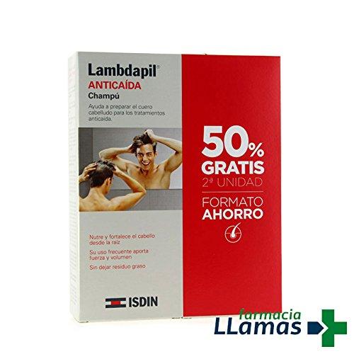 ISDIN LAMBDAPIL ANTICAIDA CHAMPU PACK 2ª UNIDAD 50% - FORMATO ...