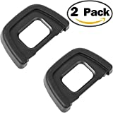 ChromLives Camera Eyecup Eyepiece DK-23 Replacement Viewfinder Protector for Nikon DK23 D70S D7100 D300S D300 and More