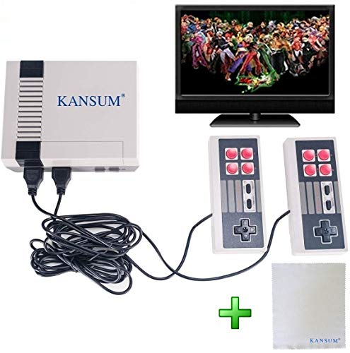 Classic Retro Family Game Console - with 620 Games ,Consoles Video Games, Built in 600 Video Games Consoles, (AV Out Cable), Children Gift,Bring You Happy Childhood Memories from Happy-paradise