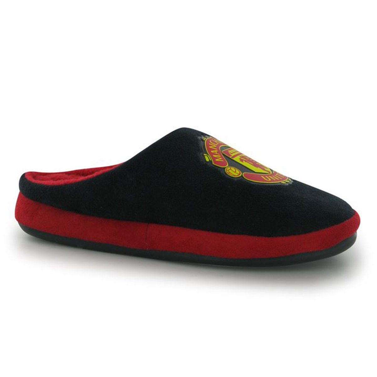 Junior Slippers Manchester United F.C. MAN UTD Team Mules Football Club Crest Supporter Footwear