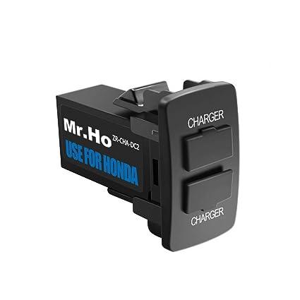 Amazon.com: Mr.Ho - Cargador de coche dual USB de 3,0 A con ...