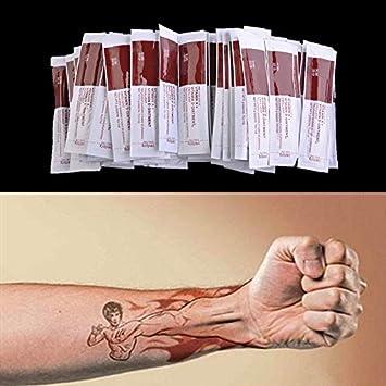 100 pcs/lot tatuaje Aftercare crema loción anti-cicatrice vitamina ...