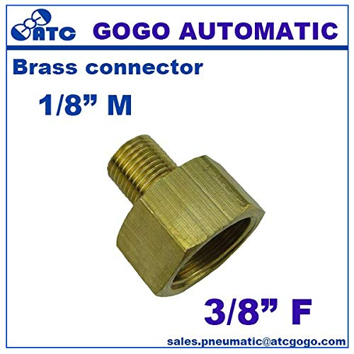 10pcs A Lot Brass Plumbing Water Pipe Fitting 1/8 1/4 3/8 1/2 G Thread Union Male to Female Underwater Connector Copper Joints