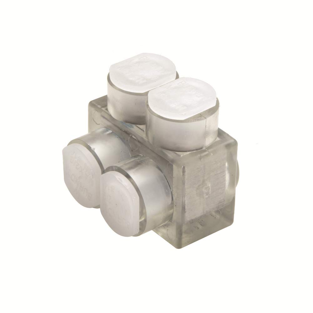 4 AWG BURNDYUNITAP BIT Single Sided Entry Multi-Tap Connector with Mounting Holes 600 kcmil