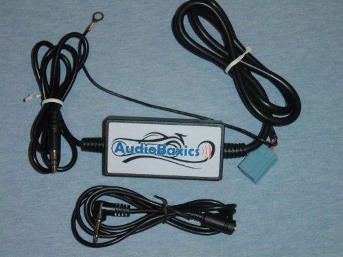(AudioBaxics AUX-VW-S VW Factory Radio 3.5mm Audio Input Adapter)