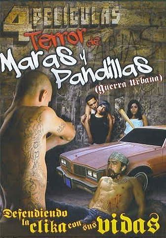 Terror de Maras y Pandillas - 4 Peliculas (Spanish DVD) by Miguel Angel Rodrigues (Peliculas Terror)