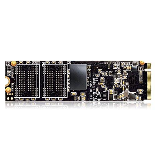 ADATA XPG SX6000 PCIe 256GB 3D NAND PCIe Gen3x2 M.2 2280 NVMe 1.2 R/W up to 1000/800MB/s Solid State Drive (ASX6000NP-256GT-C) by ADATA (Image #4)