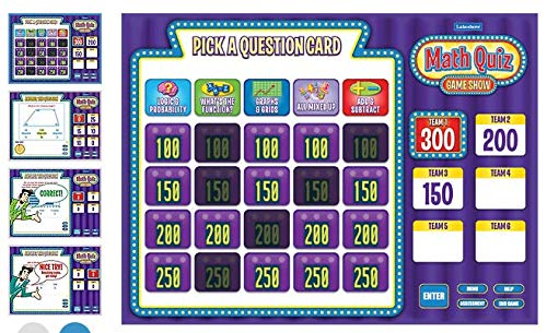 Lakeshore Math Quiz Game Show - Gr. 4-6 - Single License - Gr Single