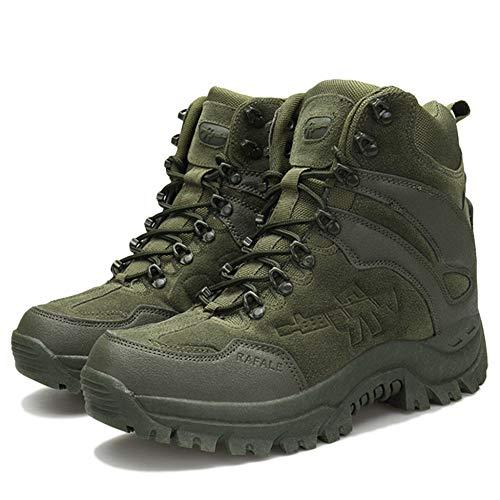 Trekking per PRO Scarponi Scarpe Camminare da Militari Uomo da Esterno Stivali Combattimento Green Combattimento da Corsa da Patrol da Martin Leggeri qvn6Yqp