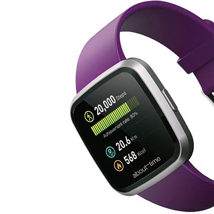 Amazon.com: About Time A1 - Reloj inteligente (talla única ...