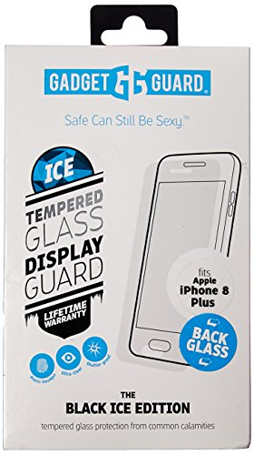 Gadget Guard Black Ice Edition Back Glass For IPhone 8 Plus - Clear by Gadget Guard