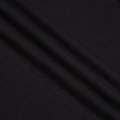 Honor Dama Puro Color Azul Grande de Boda Ceremonios Manga Negro Mujeres Corta Negro Formal de Fiestas Largos Rojo Flexible Vestidos Noches Coctel Cuello Vestidos Beauty7 V Rnx16qwaa