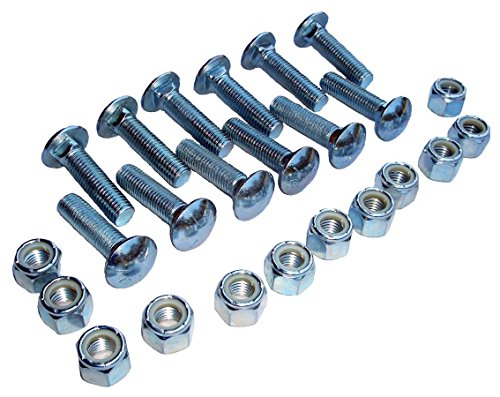 S.A.M. Replacement Cutting Edge Bolt and Nut Kit – For Meyer Snowplow Cutting Edges, Replaces OEM Part# 08318