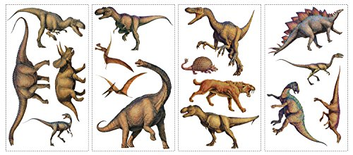 Lifelike Dinosaur Wall Decals (Dinosaurs Wall Art)