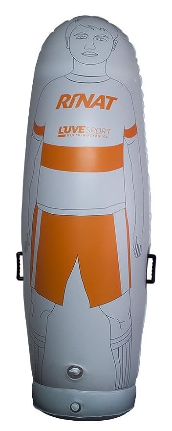 Rinat NRG Training Defensa Hinchable, Blanco/Naranja, Talla Única