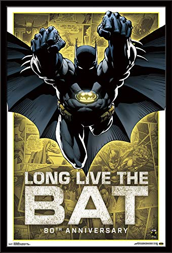 - Trends International Batman 80th Wall Poster, 24.25