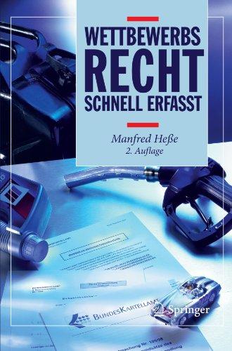 Wettbewerbsrecht - Schnell erfasst (German Edition)