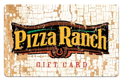 Amazon.com: Pizza Ranch Crackled Gift Card - 10: Gift Cards