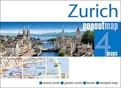 Zurich PopOut Map (PopOut Maps)