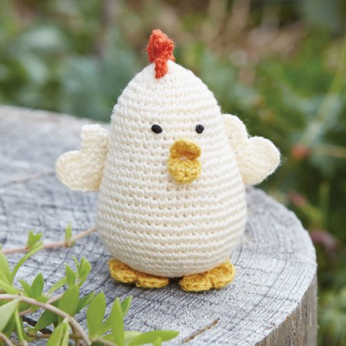 - Hand-Crocheted Egg Shaped Lil' Chick