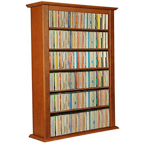 Venture Horizon Wall Mount Media Cabinet-Single - Triple Cherry Width Wall