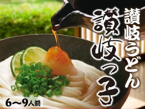 本物の味 讃岐ひやむぎ 讃岐っ子 お試しセット 乾麺3袋入り(6~9人前)