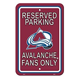 NHL Colorado Avalanche Reserved Parking Sign, 12\