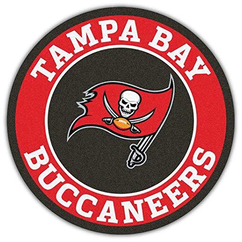 Sport Tampa Bay Buccaneers NFL Label Car Bumper Sticker Decal 5'' X 5'' ()