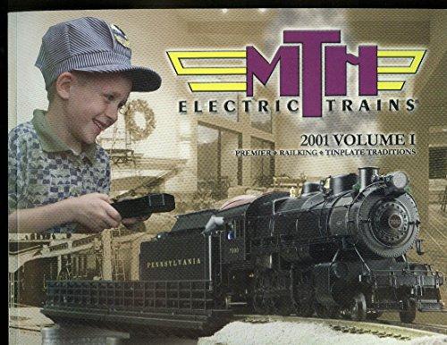 MTH Electric Trains catalog 2001 V1 Premier RailKing Tinplate (Premier Trains Mth)