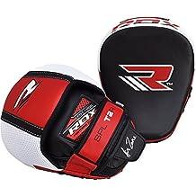 RDX MMA Boxing Punch Target Focus Training Punching Mitts Hook & Jab Pads Thai Strike Kick Shield