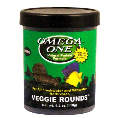 51RfqTEEqIL - Omega One Veggie Rounds 8.1oz.
