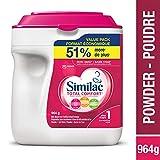 Similac Total Comfort Omega-3 & Omega-6 Baby Formula, Powder, 964g, 0+ Months, Pink