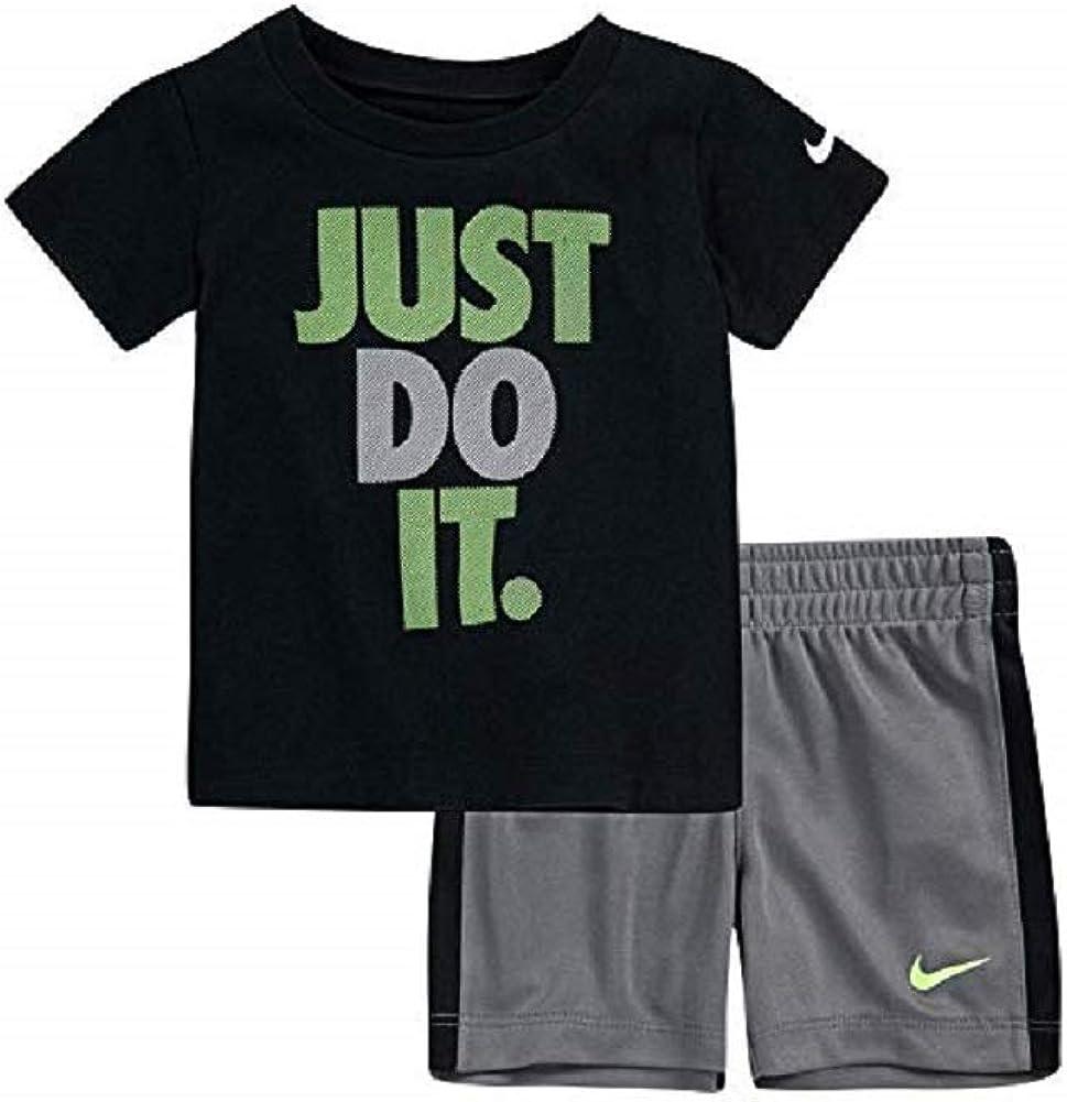 Amazon.com: Nike Baby Boys 2-Piece Just Do It Short Set: Clothing