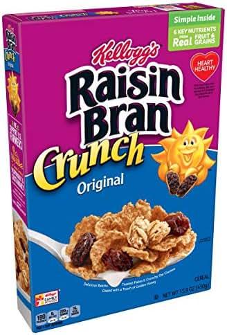 Raisin Bran Crunch Original Breakfast Cereal, 15.9 oz