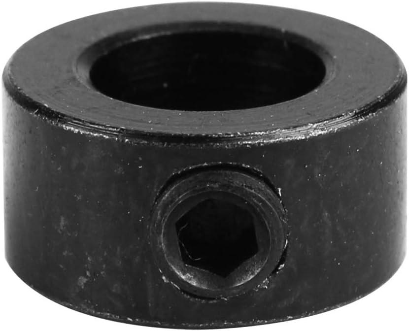 Mi Tu Lot de 4 colliers de serrage en acier inoxydable T8 avec vis de verrouillage en plomb et anneau de blocage pour colonne disolation pour Openbuilds 3D Imprimante Pi/èces Accessoires