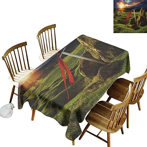 Living room rectangular tablecloth W54