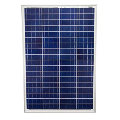 100 Watts 100W Solar Panel 12V Poly Off Grid Battery Charger for RV