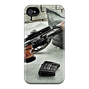 Durable Defender Cases For Iphone 6 Covers(dragunov Sniper Rifle)