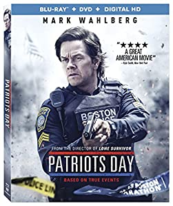 Cover Image for 'Patriots Day [Blu-ray + DVD + Digital HD]'