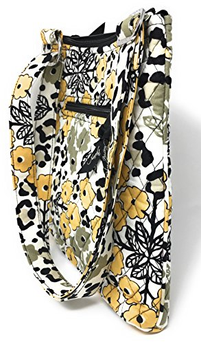 With Bag Go Solid Cross Wild Hipster Black Body Vera Interior Bradley Rq0IUww